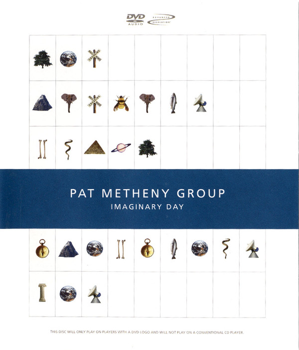 Pat Metheny Group, Imaginary Day Live Cover Art