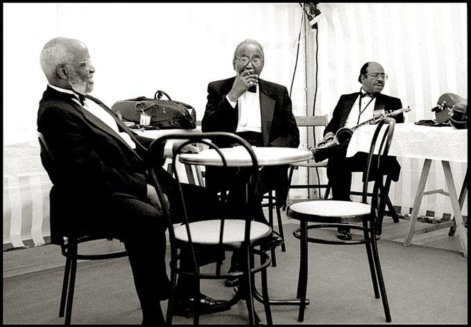 Junior Mance, Harry Edison Y Benny Golson. Bayonne (Francia), 1994