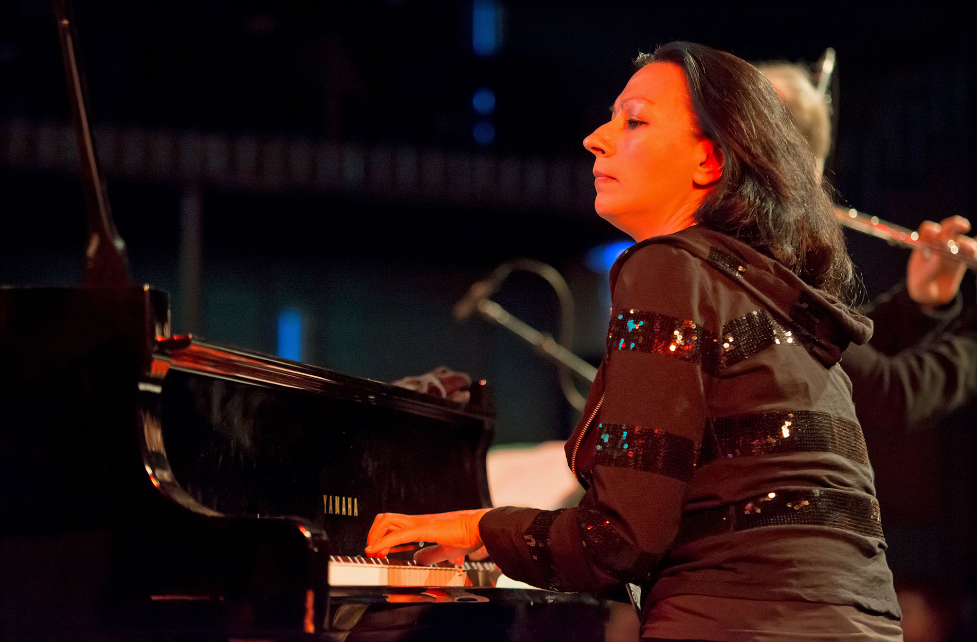 Amina Figarova Sextet at Dutch Jazz & World Meeting 2012