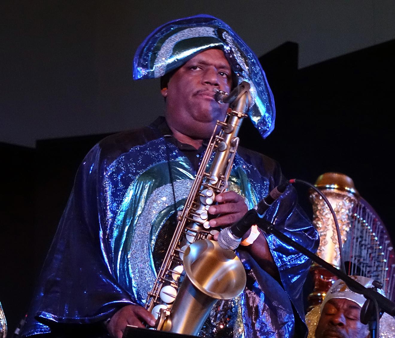 Charles Davis at Vision Festival 20