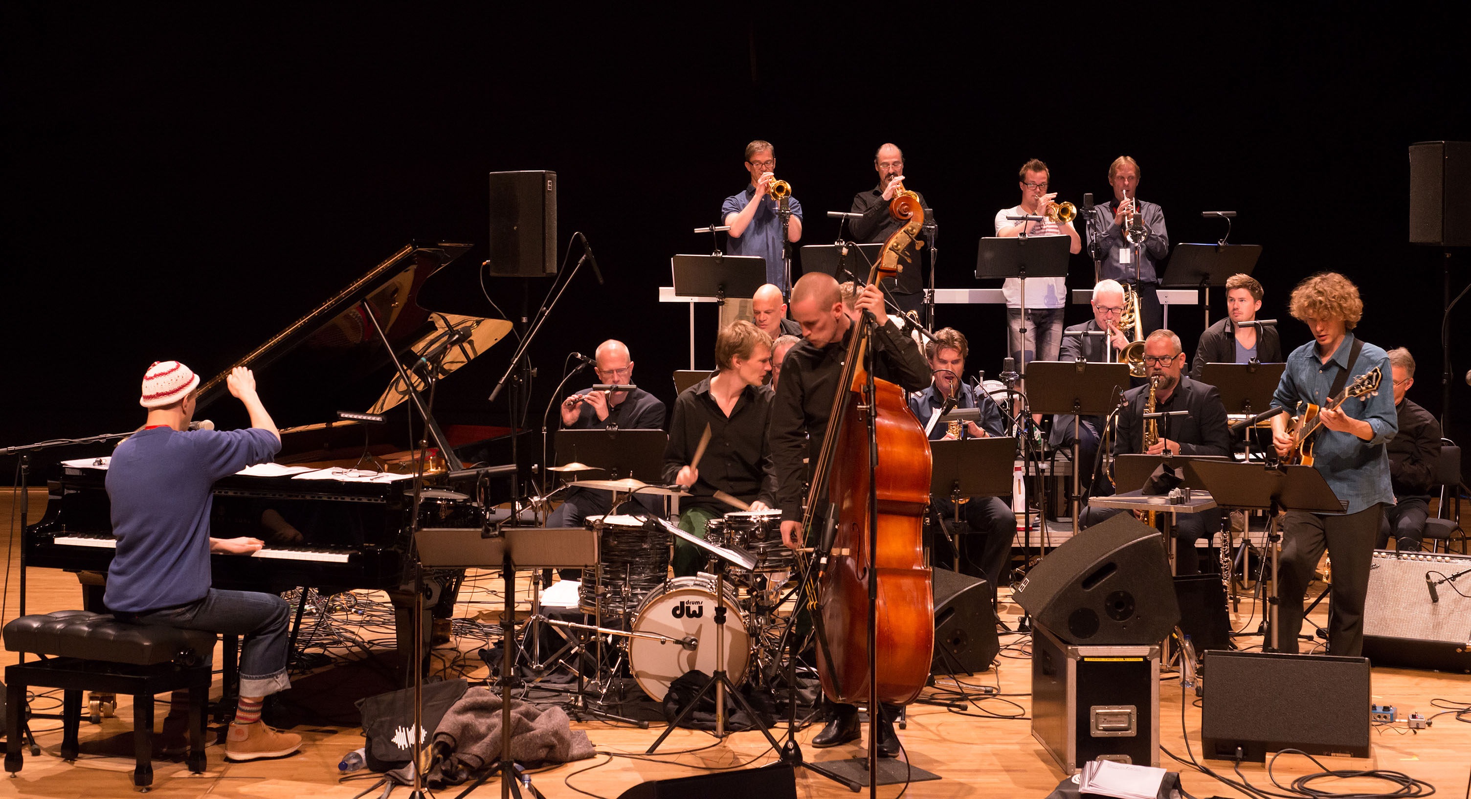 Django bates - norrbotten big band commission, luleå, sweden ju