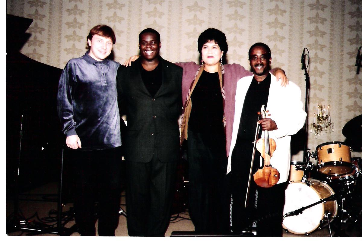 Boris Kozlov, Jonathan Blake, Sumi Tonooka &Amp; John Blake Jr. in Harrisburg