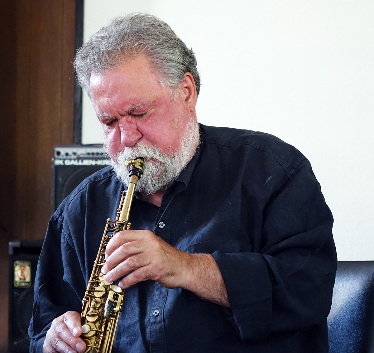 Evan Parker at Guelph Jazz Festival 2015