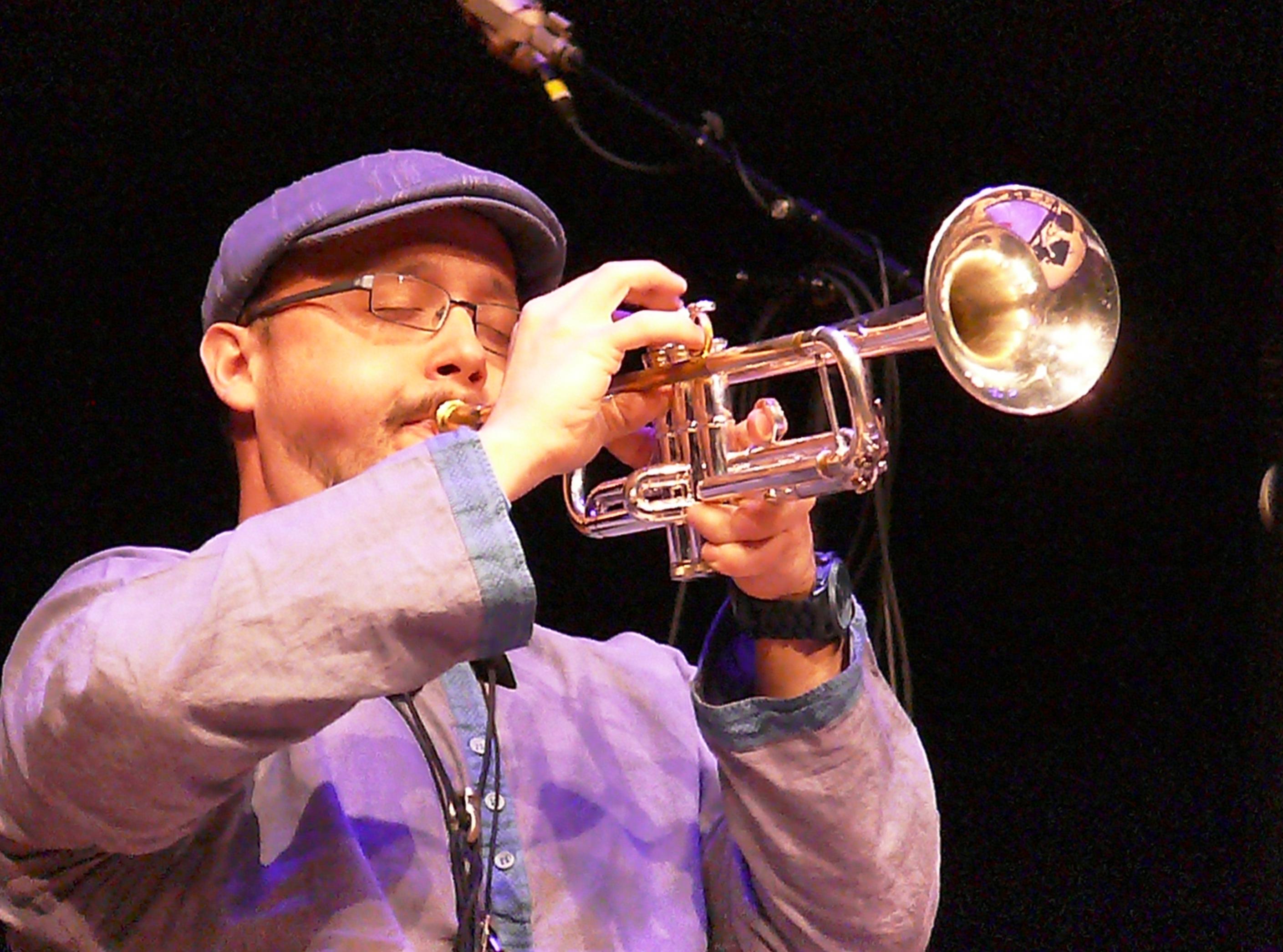 Matt lavelle at the vision festival, new york in june 2013
