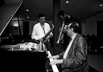 Tete Montoliu, Wallace Roney and Perico Sambeat. Valencia (Spain) 1991