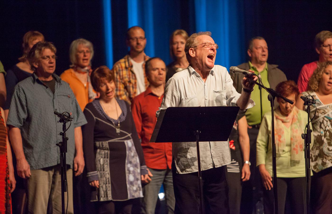Phil Minton Feral Choir, Fimav 2012