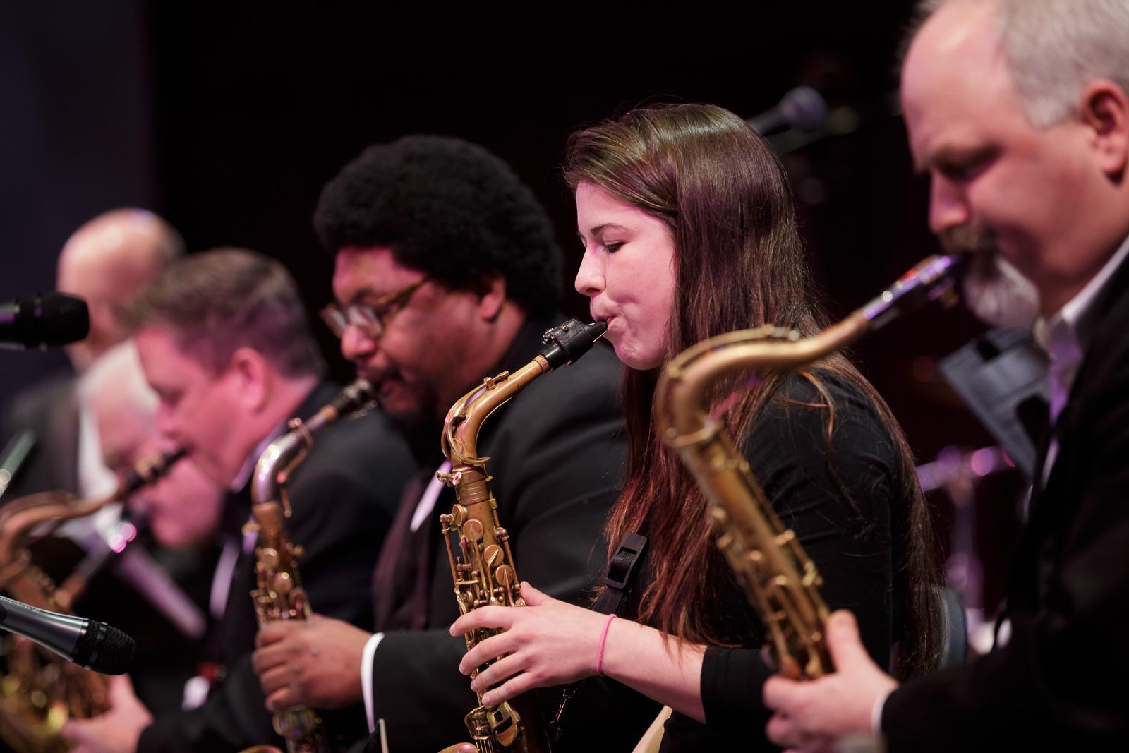 SRJO saxophones
