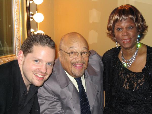 Tony Foster with Red Holloway and Ernestine Anderson