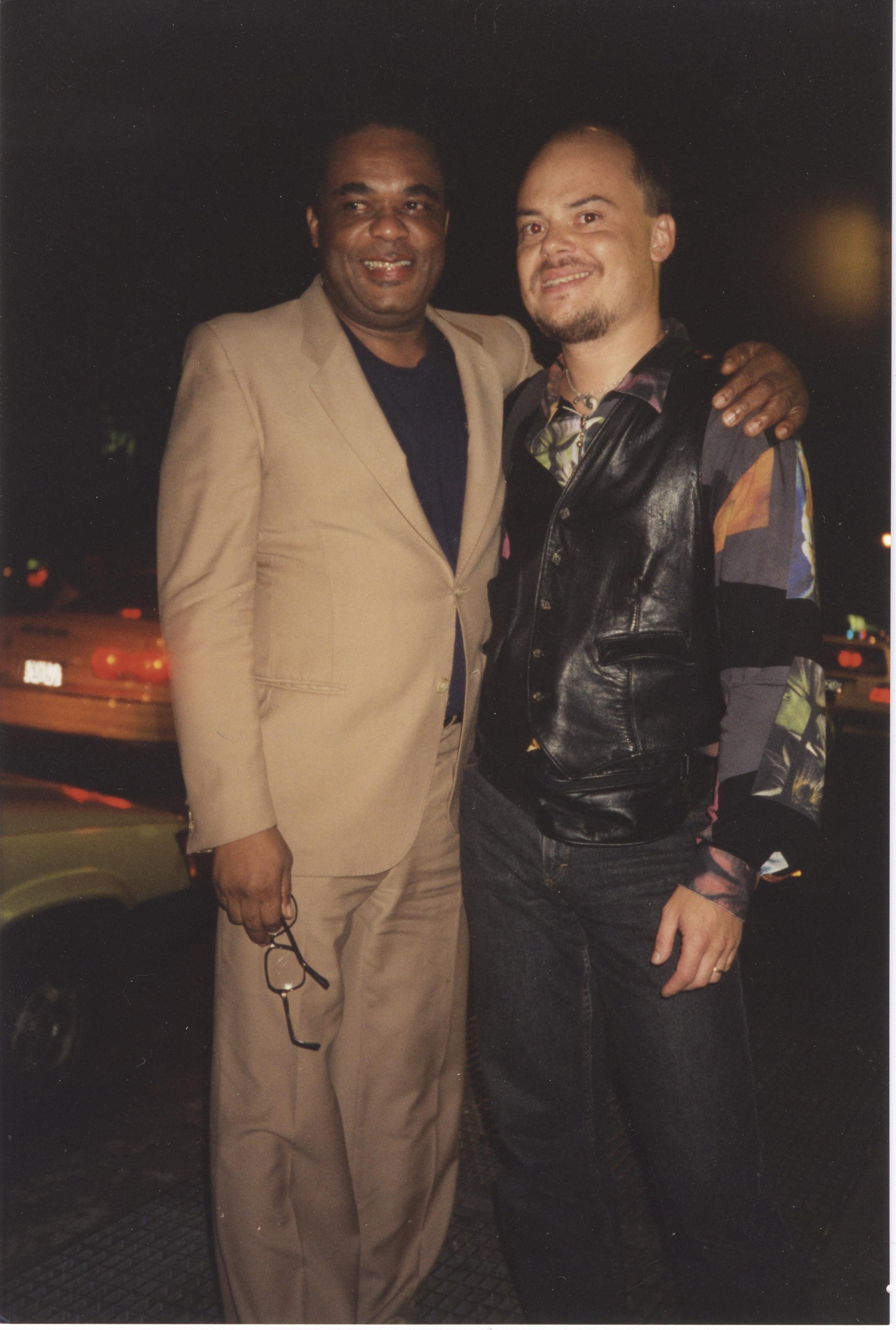Freddie Hubbard & Anders Bergcrantz Outside Sweet Basil NYC