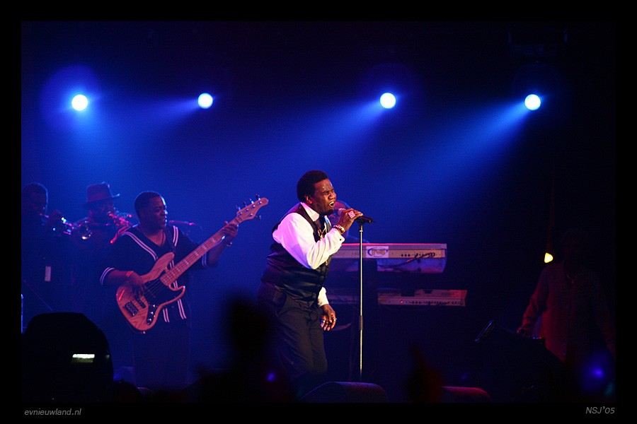 Al Green with Band