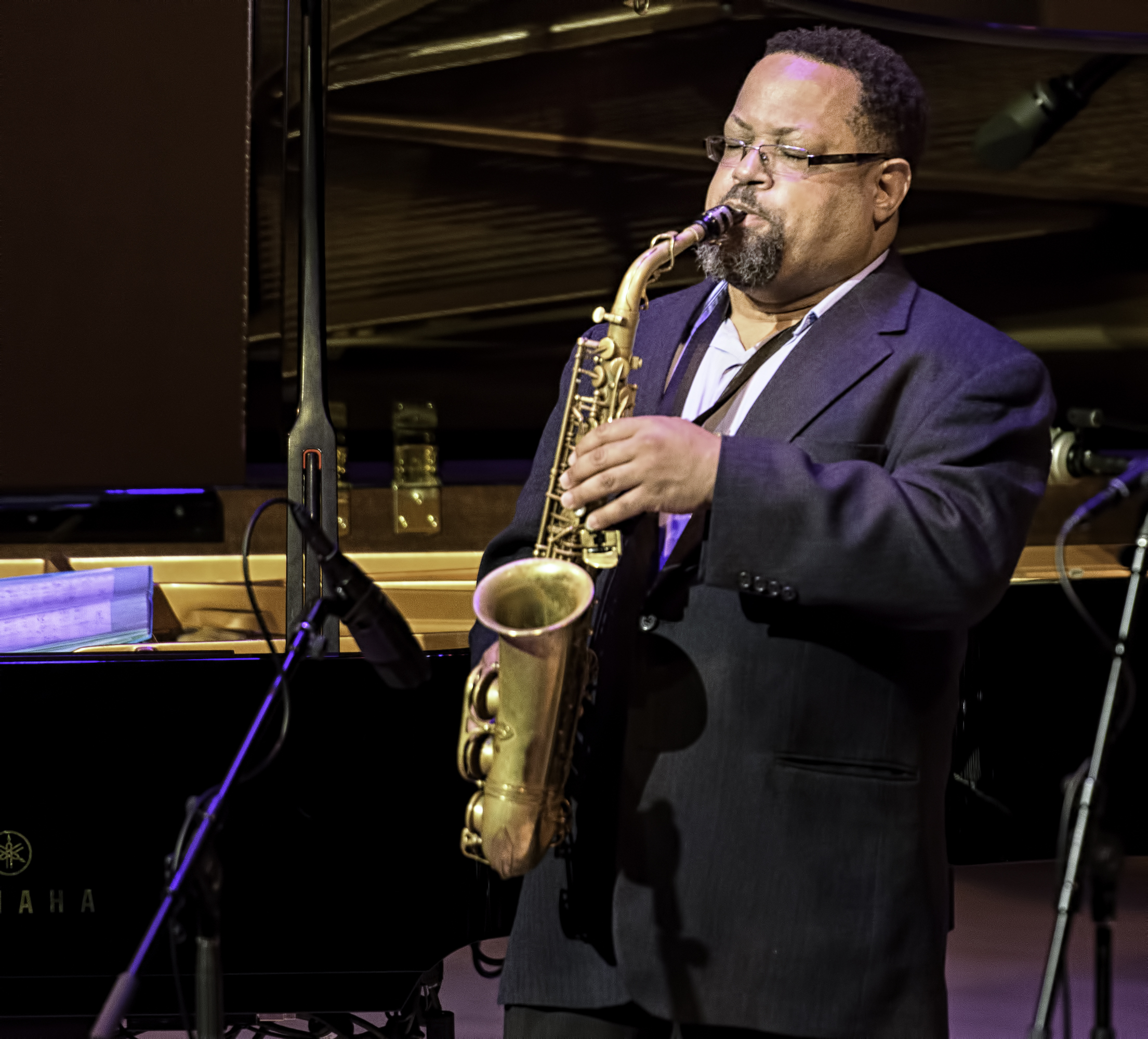 Justin Robinson With The Roy Hargrove Quintet At The Musical Instrument Museum (mim) In Phoenix