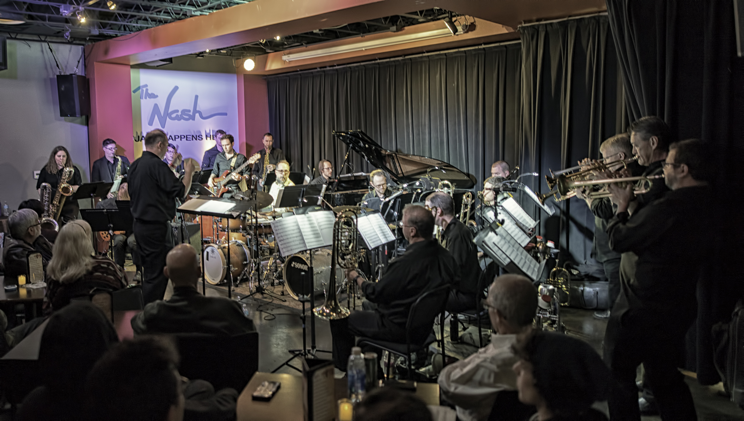 John Hollenbeck With Eric Rasmussen And Scottsdale Community College Jazz Orchestra At The Nash In Phoenix