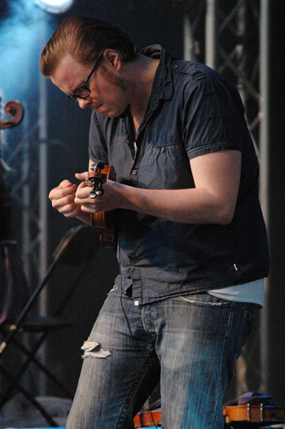 Ola Kvernberg, Performing with Motorpsycho, Trondheim Jazz Orchestra and Trondheimsolistene, Molde Jazz 2010