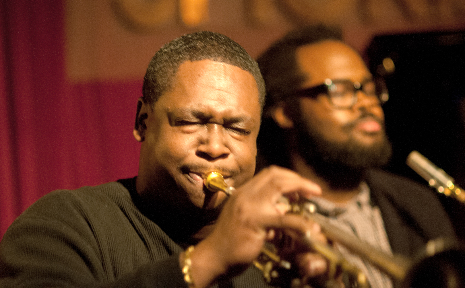 Freddie Hendrix and Jason Marshall with Nickle and Dime Ops at Smoke Jazz Club