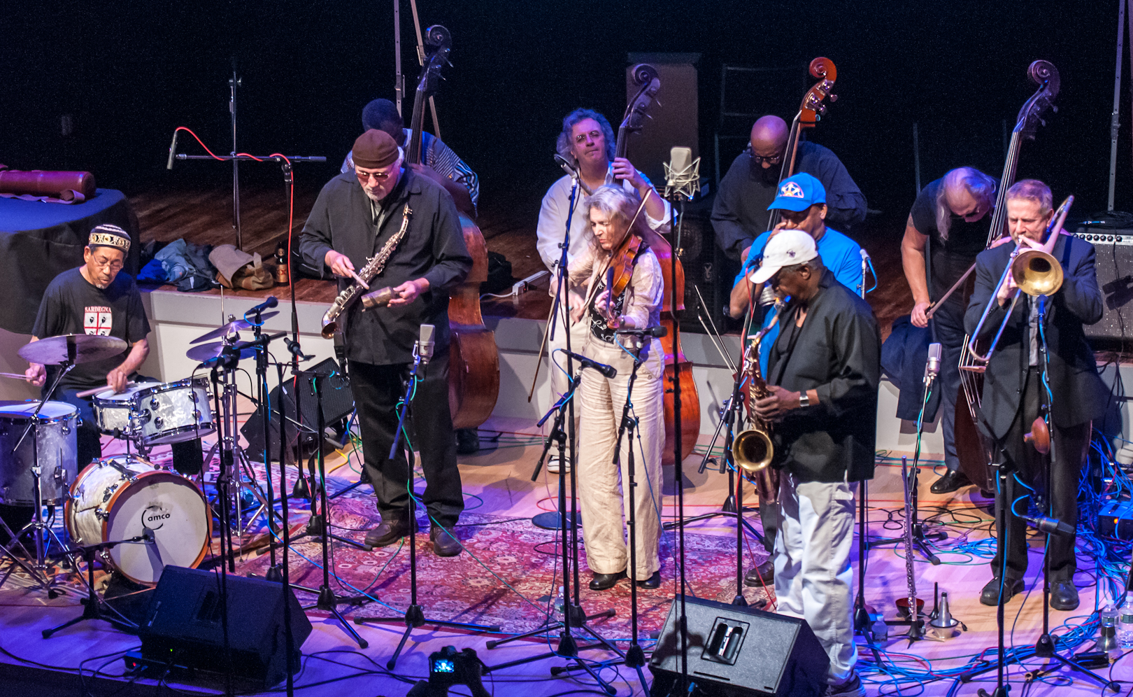 Joe McPhee / Angels, Devils and Haints II at the Vision Festival 2012