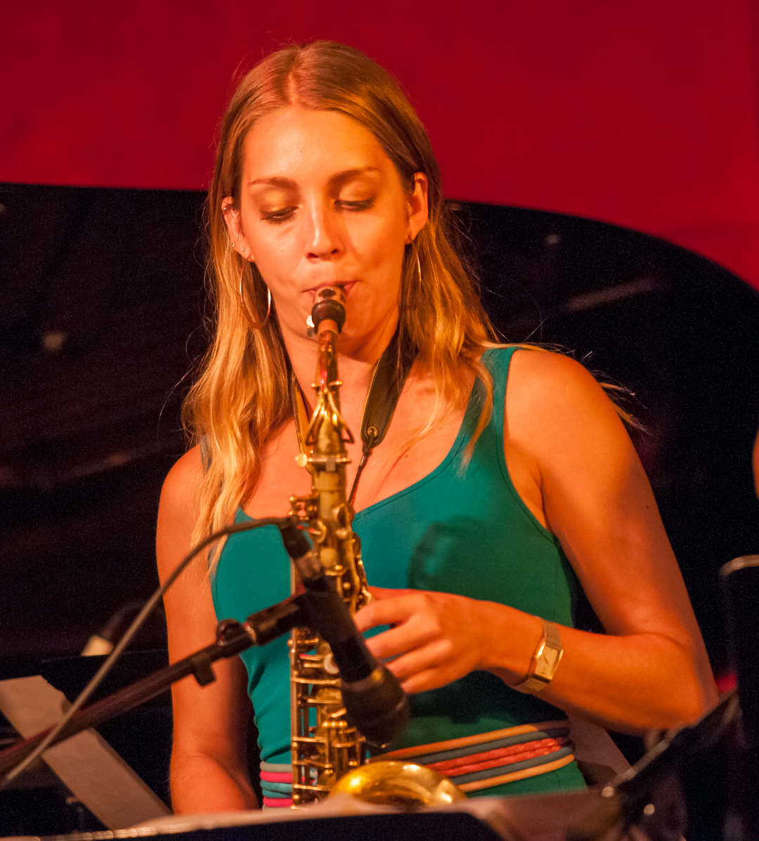 Hailey Niswanger with the Either/Orchestra at the Jazz Standard