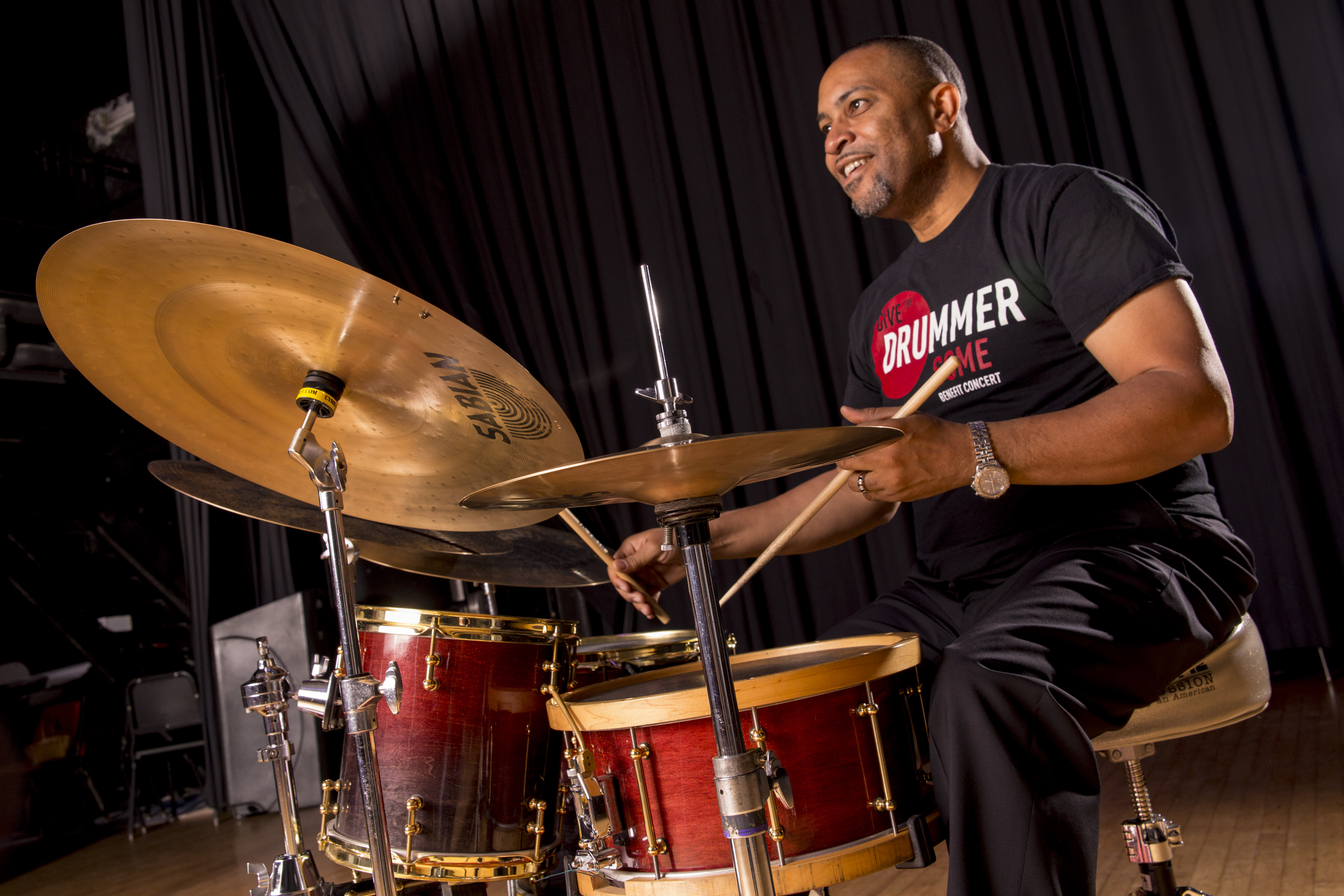 Thomas Taylor Give the Drummer some