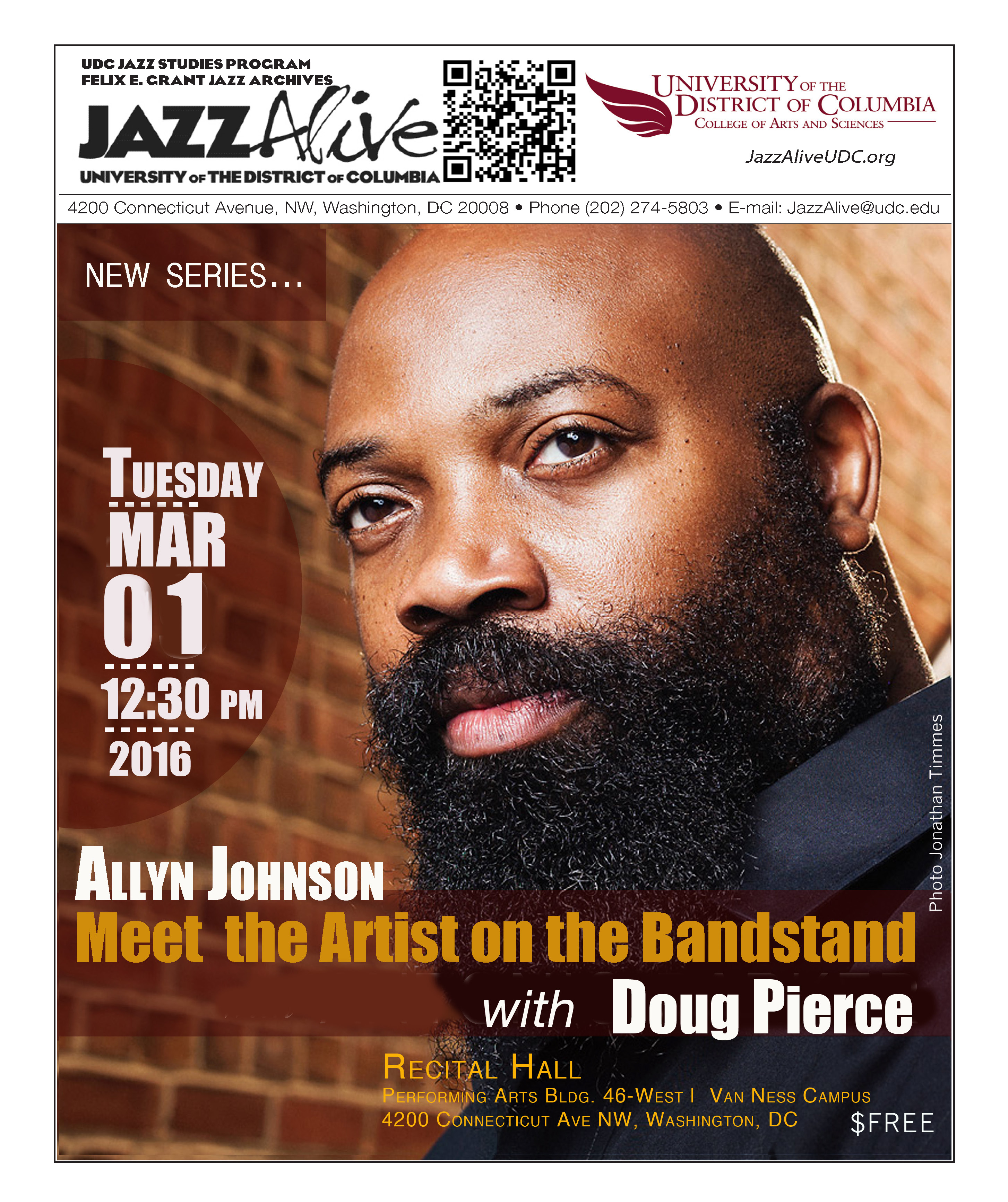 Allyn Johnson And Meet The Artist On The Bandstand with Doug Pierce