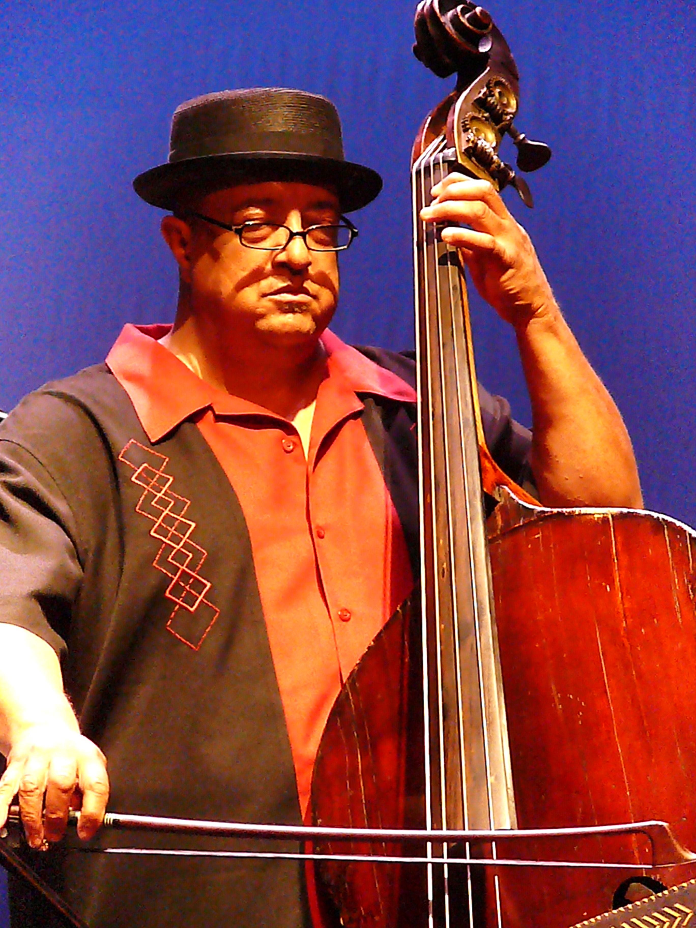 Harrison Bankhead at Vision Festival 2010
