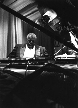 Oscar Peterson at the Monterey Jazz Festival 1990
