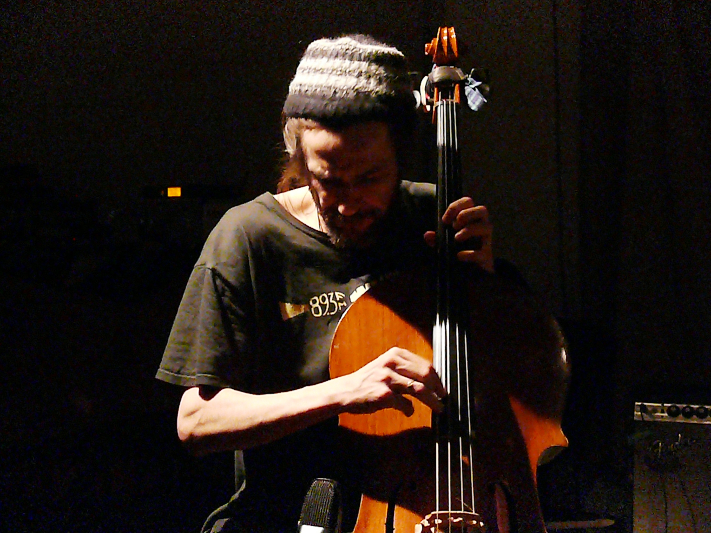Fred Lonberg-Holm at Cafe Oto, London in March 2012