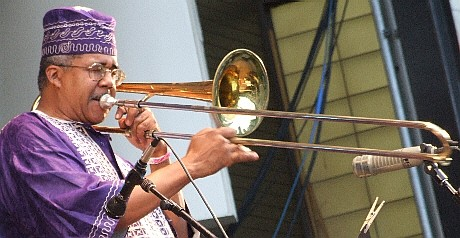 2006 Chicago Jazz Festival, Friday: Steve Berry Leads Africa Brass in a Tribute to Malachi Thompson