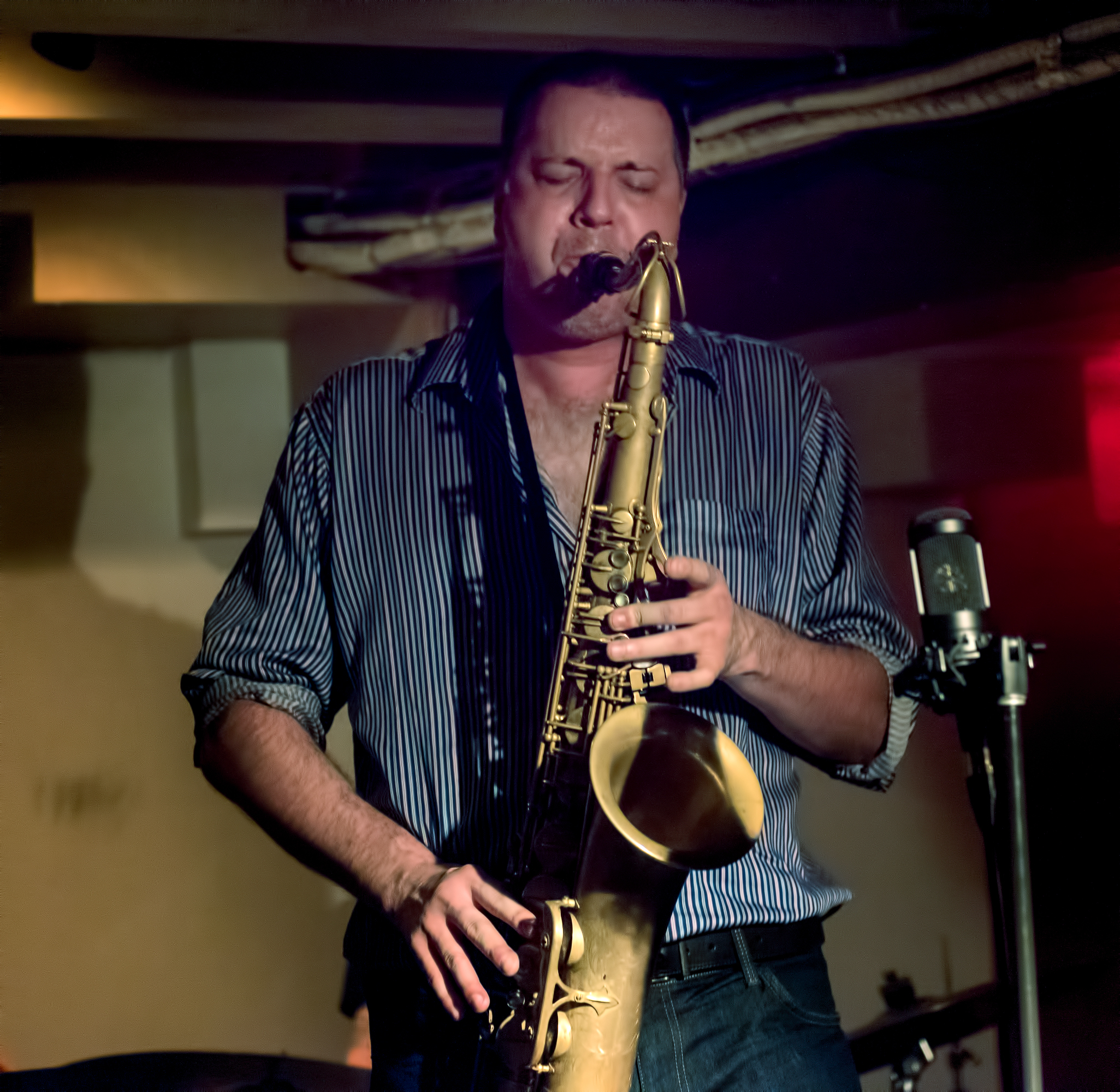 Al McLean with Quartet pays homage to Coltrane Plays the Blues at The Montreal International Jazz Festival 2018