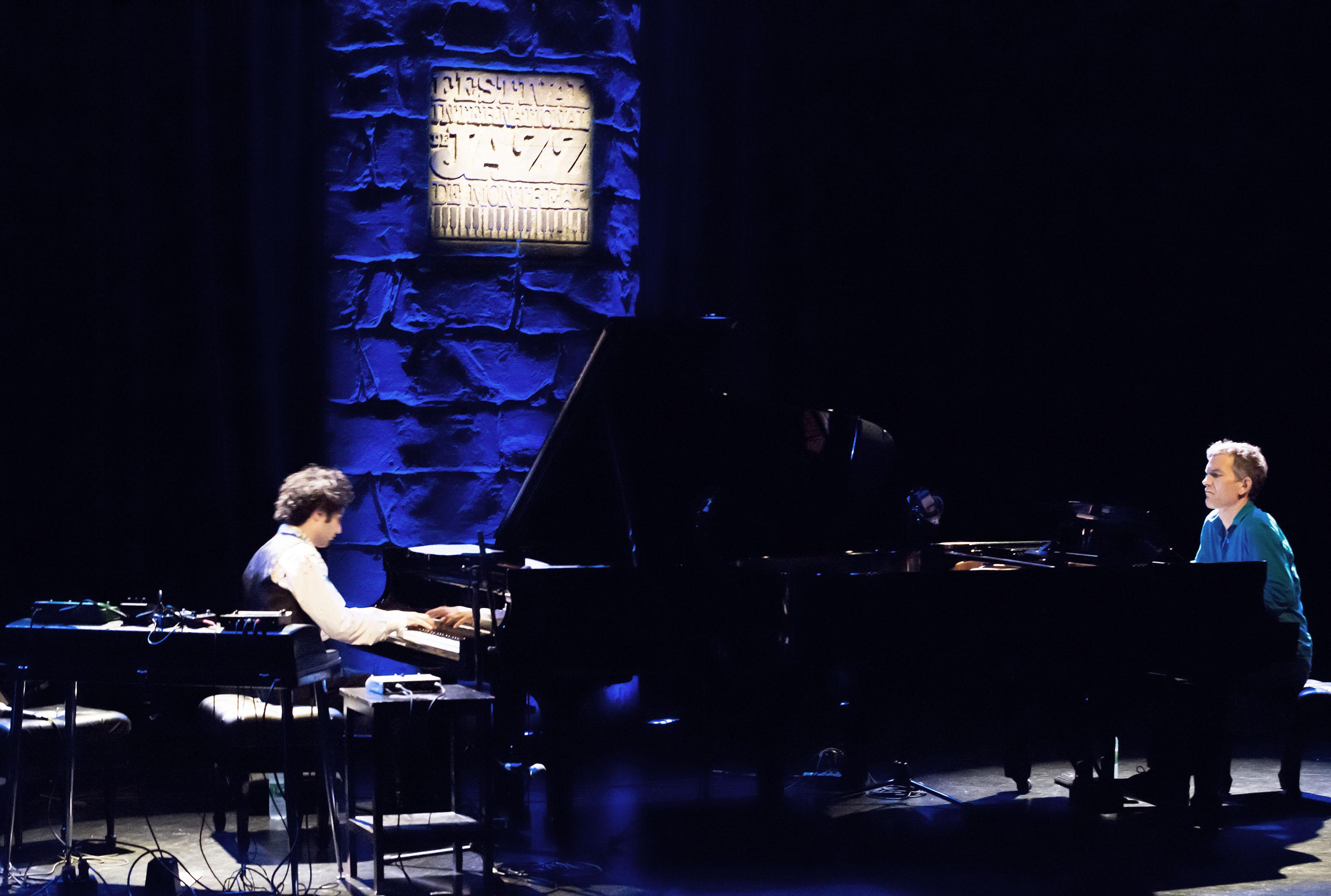Tigran & Brad Mehldau at 2014 Festival International de Jazz de Montréal