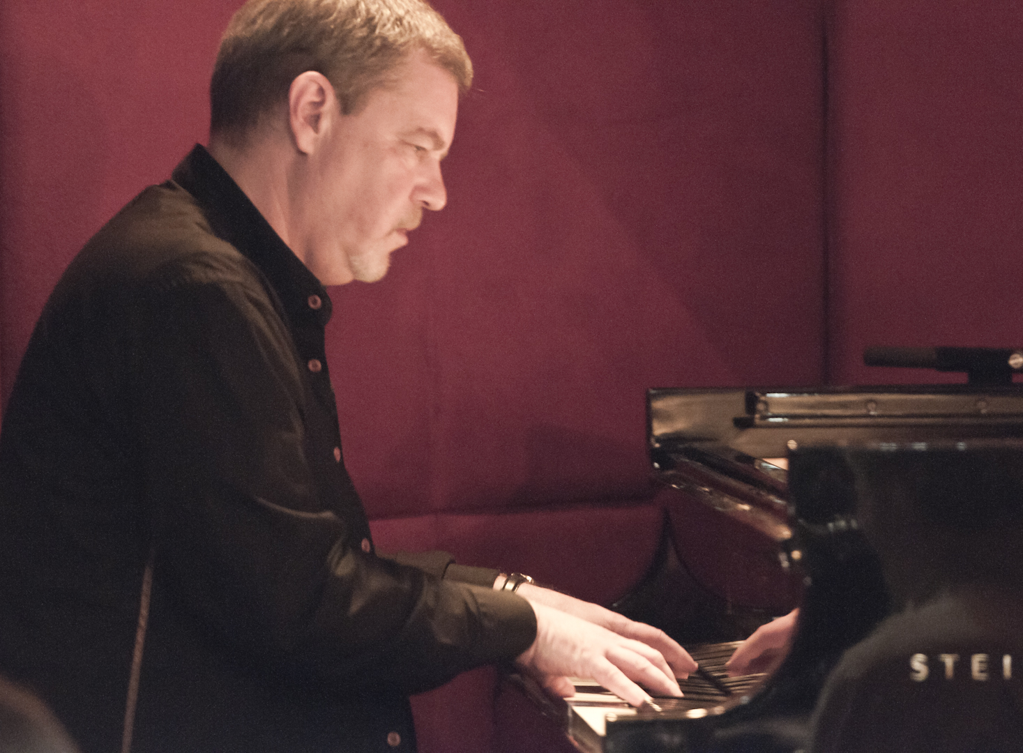 Frank Kimbrough with the Maria Schneider Orchestra at the Jazz Standard