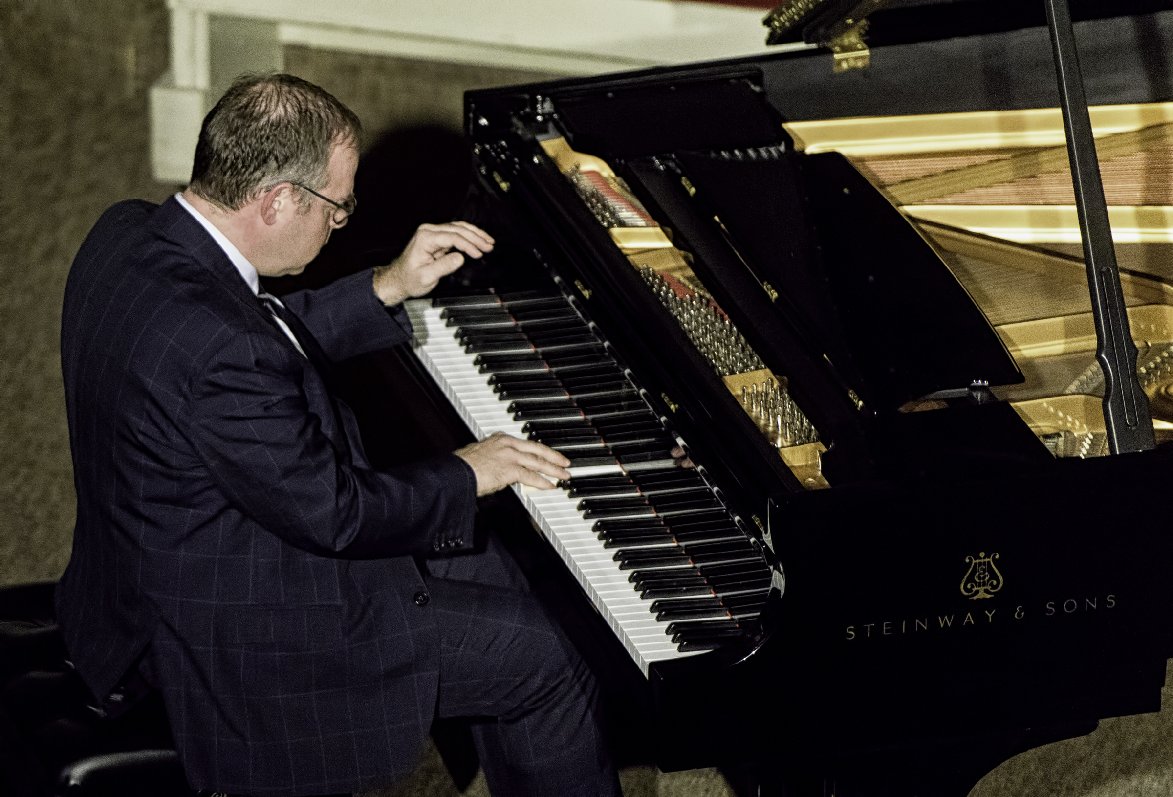 Bill Charlap at the Jazz Legends for Disability Pride at the NYC Winter Jazzfest 2016