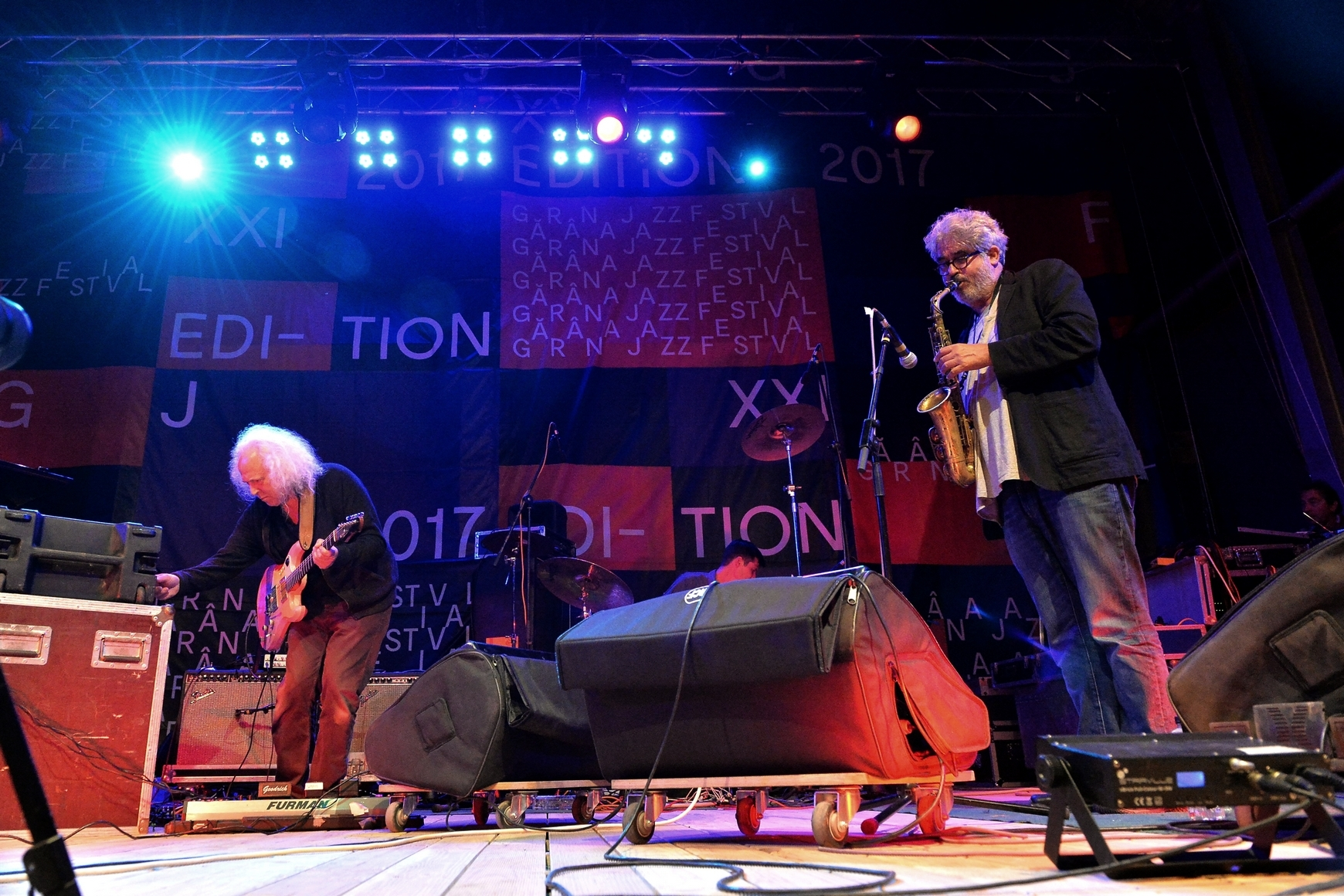 David Torn with Sun Of Goldfinger Project at Garana Jazz Festival 2017