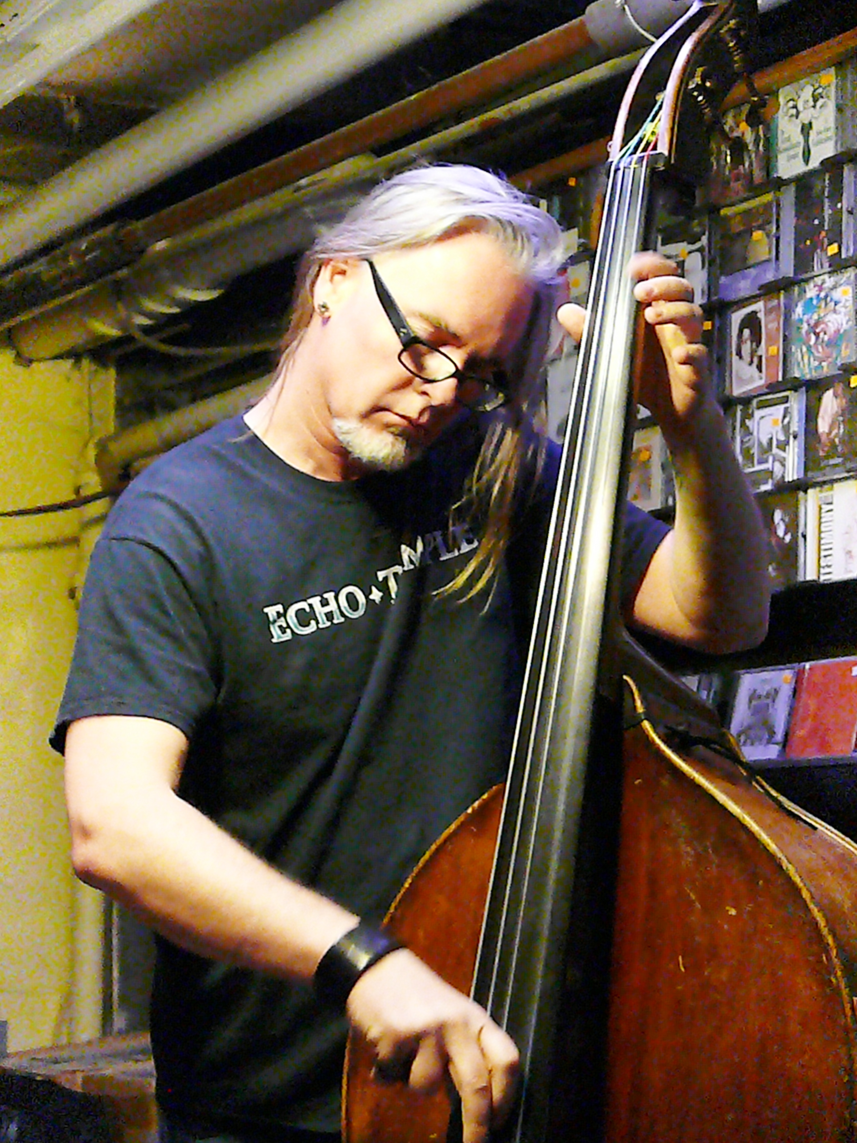 Thomas Helton at Downtown Music Gallery, NYC in October 2016