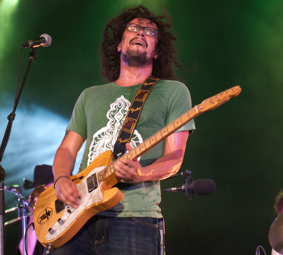 Sergio Rios with Orgone at the Montreal International Jazz Festival 2012