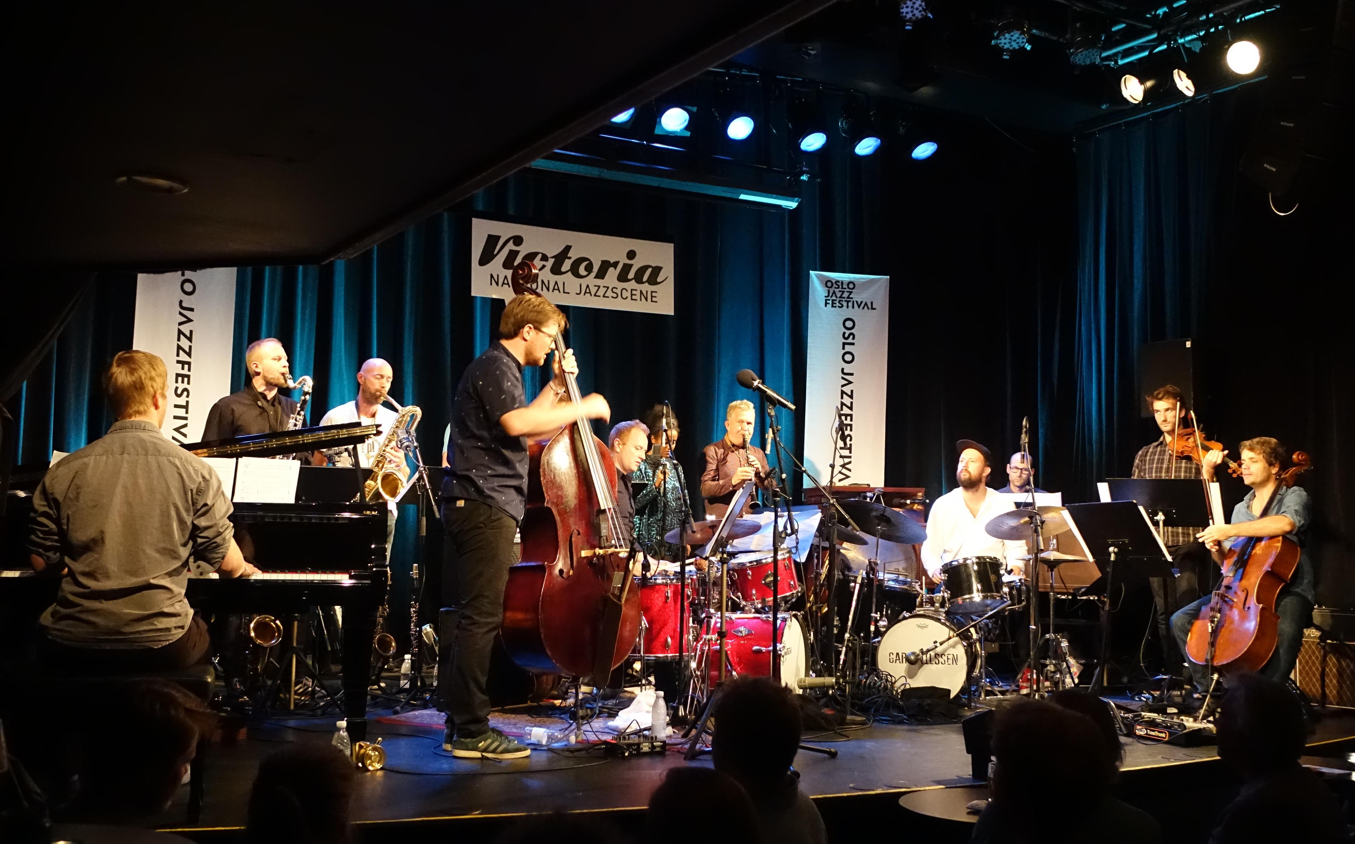 The Trondheim Jazz Orchestra at Nasjonal Jazzscene Victoria, Oslo in August 2018