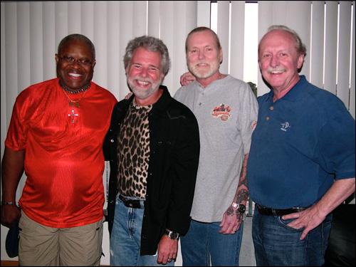 Jaimoe, Chuck Leavell, Gregg Allman, Butch Trucks