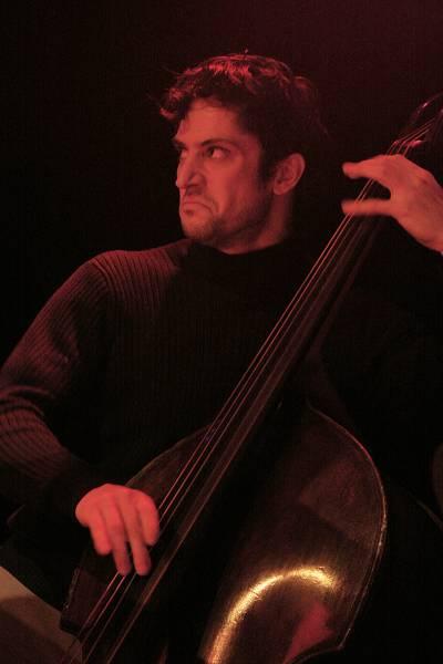 "Danton Boller with ""Christoph Schweizer-David Kikoski-Seamus Blake-Gene Jackson-Danton Boller"" at the Sud Des Alpes, Amr, Geneva"