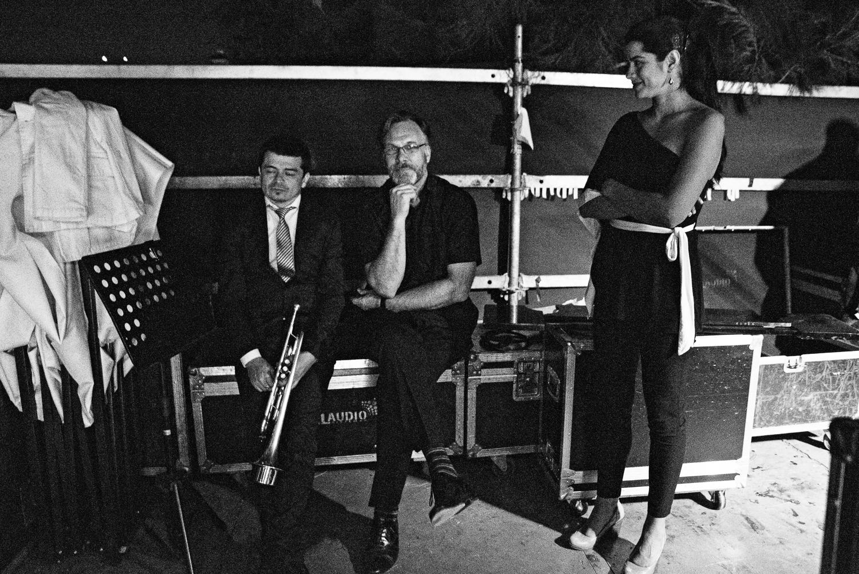 Mariano Loiacono, Tim Armacost and Diana Arias