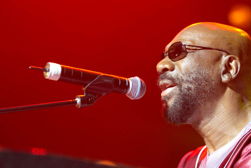 Isaac Hayes at the Opera House