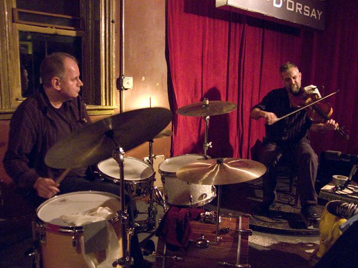 Mat Maneri and Randy Peterson - Barbés 2008