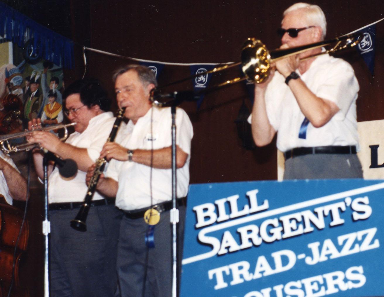 Bill Sargent's Trad-Jazz Rousers Dixieland Band 9 - Jeff Pietrangelo, Kim Cusak &Amp; Herb Draeger
