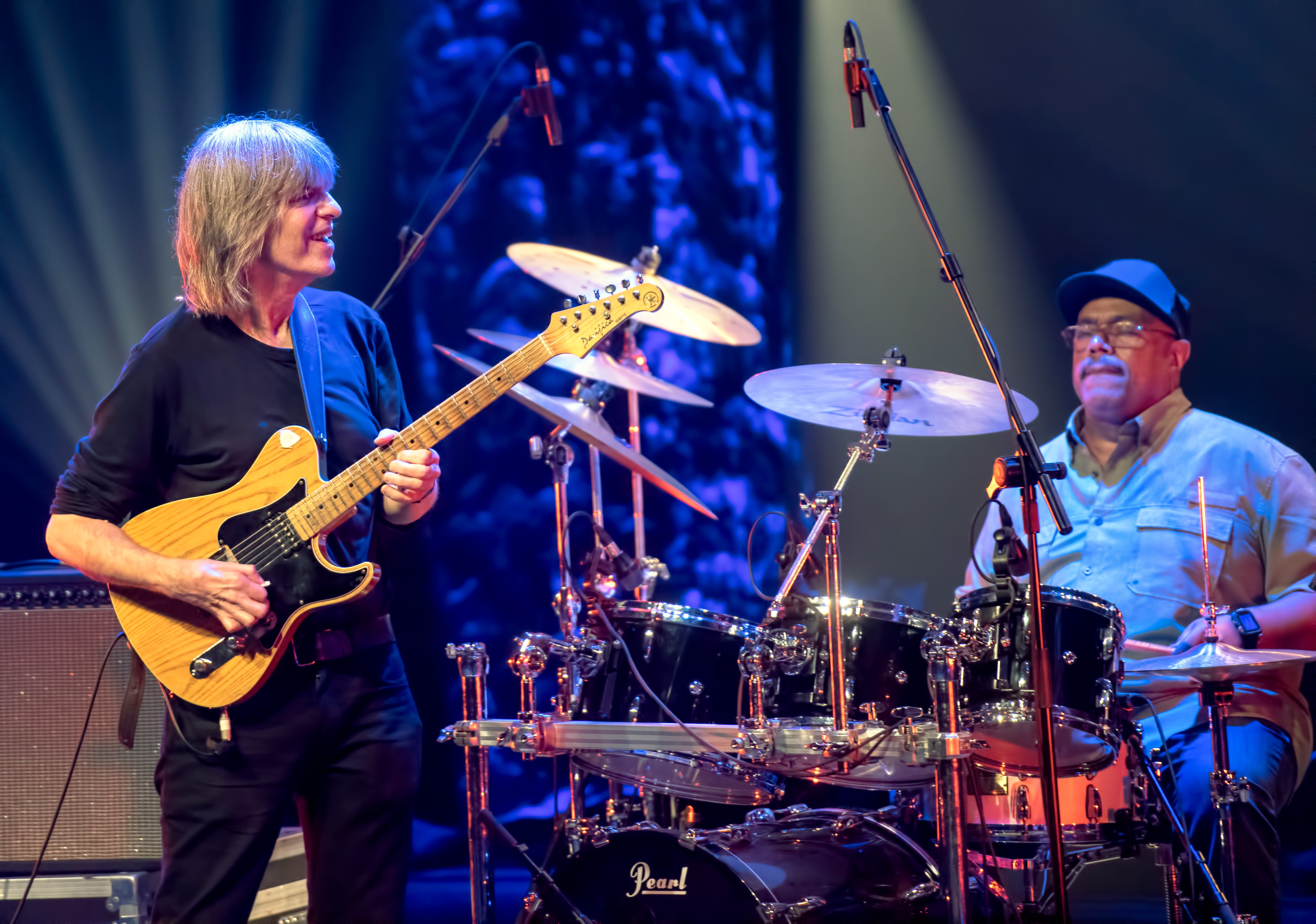 Mike Stern And Dennis Chambers With The Stern/brecker Band At The Montreal International Jazz Festival 2018