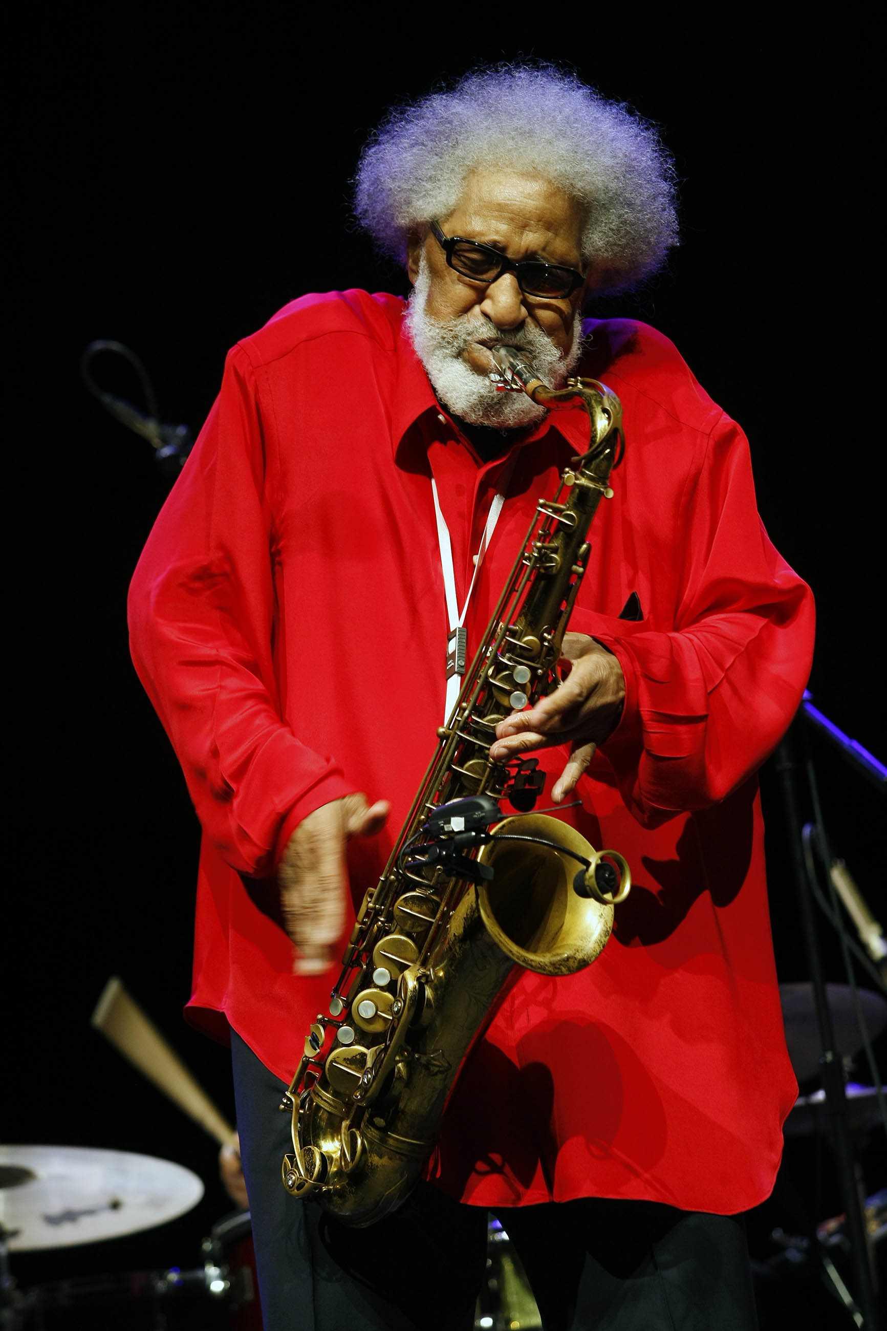 Sonny Rollins at the 2010 Barcelona Jazz Festival