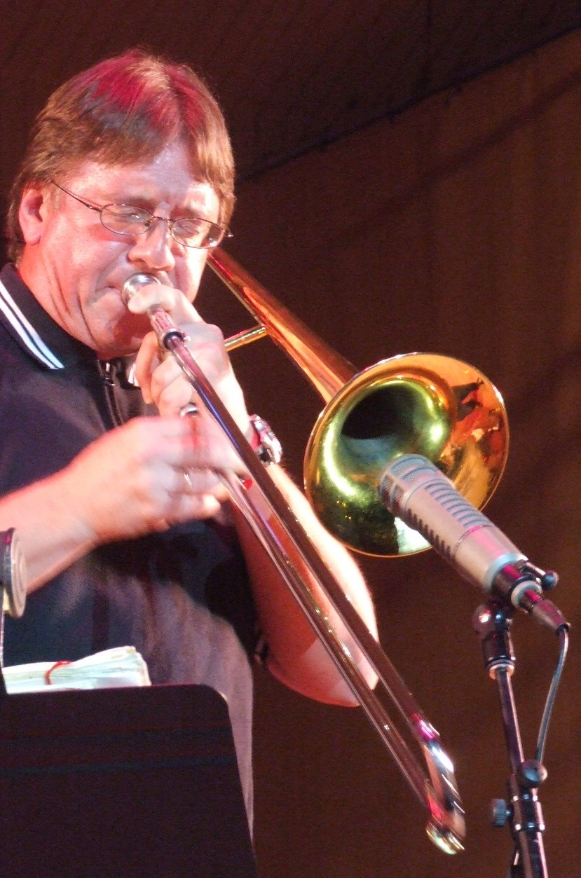 2008 Chicago Jazz Festival, Friday: Conrad Herwig in the Evening's Closing Set, Led by Eddie Palmieri