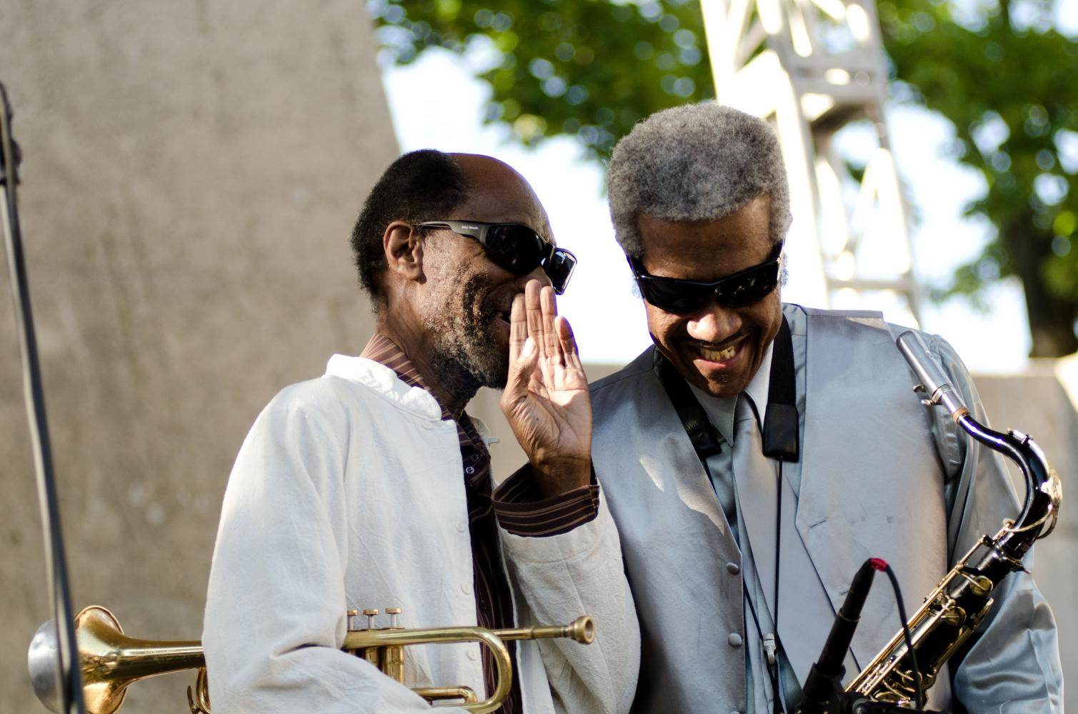 Charles Tolliver and Billy Harper