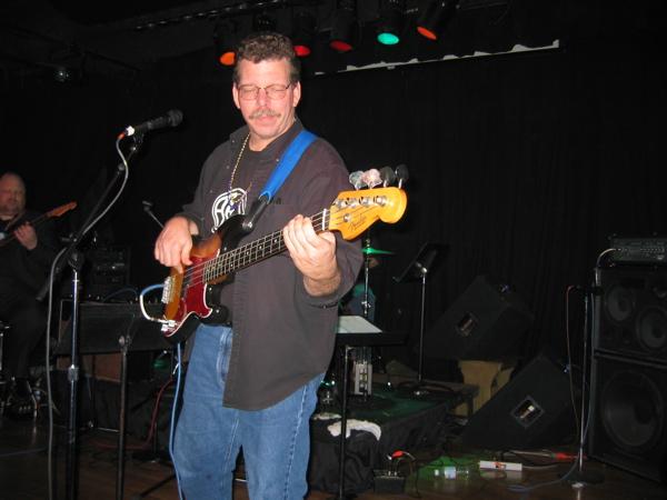 Dave Playing