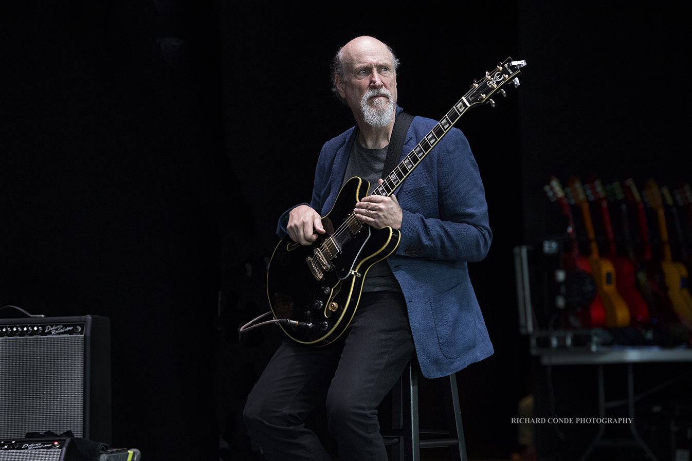 John Scofield at the Freihofer Saratoga Jazz Festival 2017