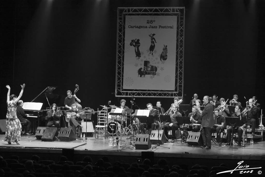 Perico Sambeat Flamenco Big Band-2008