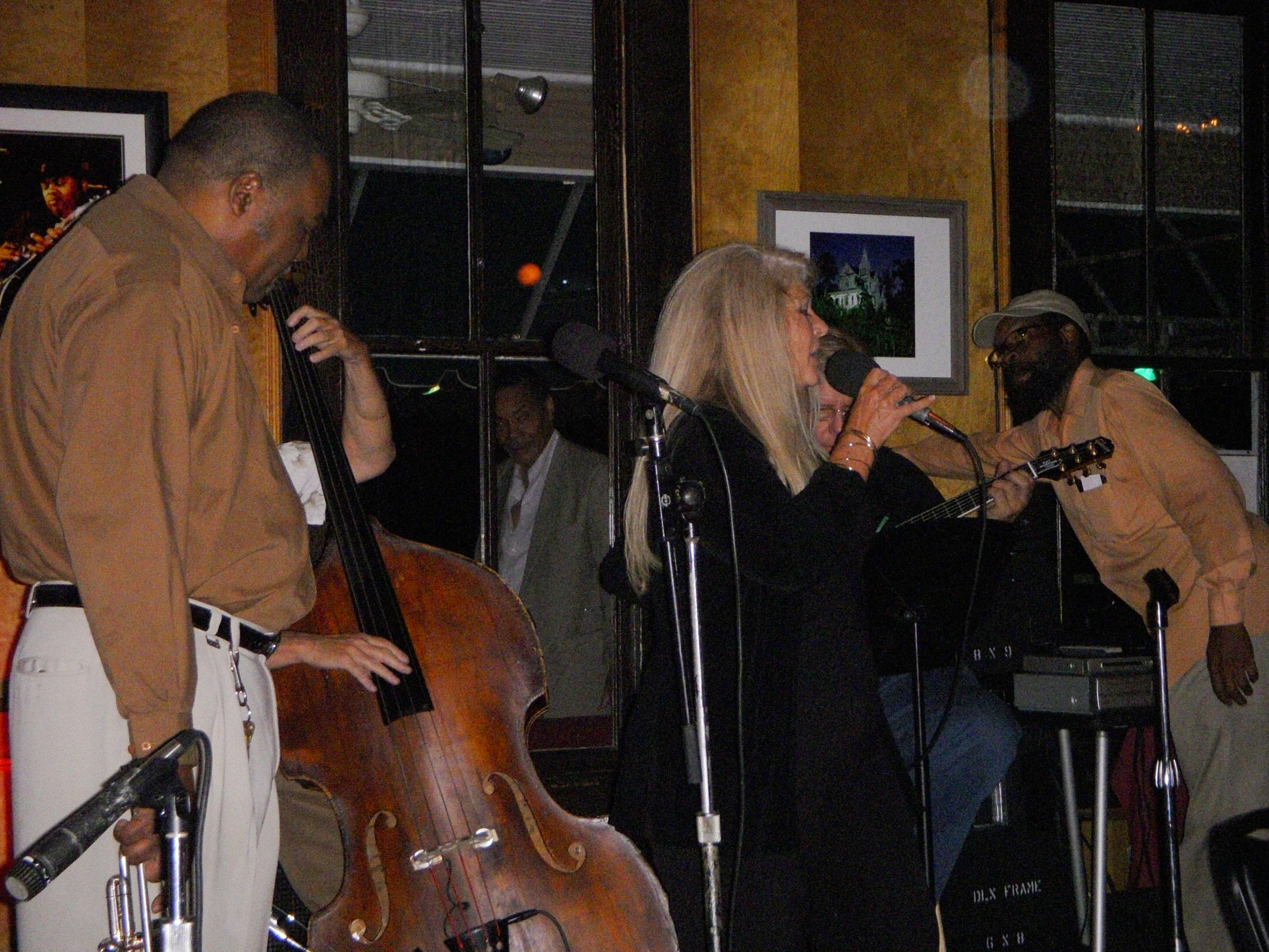 Dena Blue Performs at Phil & Derek's Restaurant and Wine Bar - Monday Night Jazz Jam with T. R. Reed and the Gang