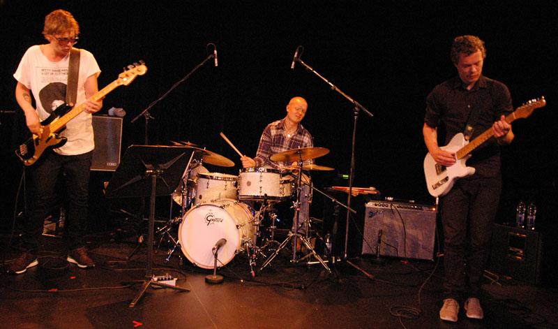 Anders Christiansen, Olavi Louhivuori, Jakob Bro, 2010 Ottawa International Jazz Festival