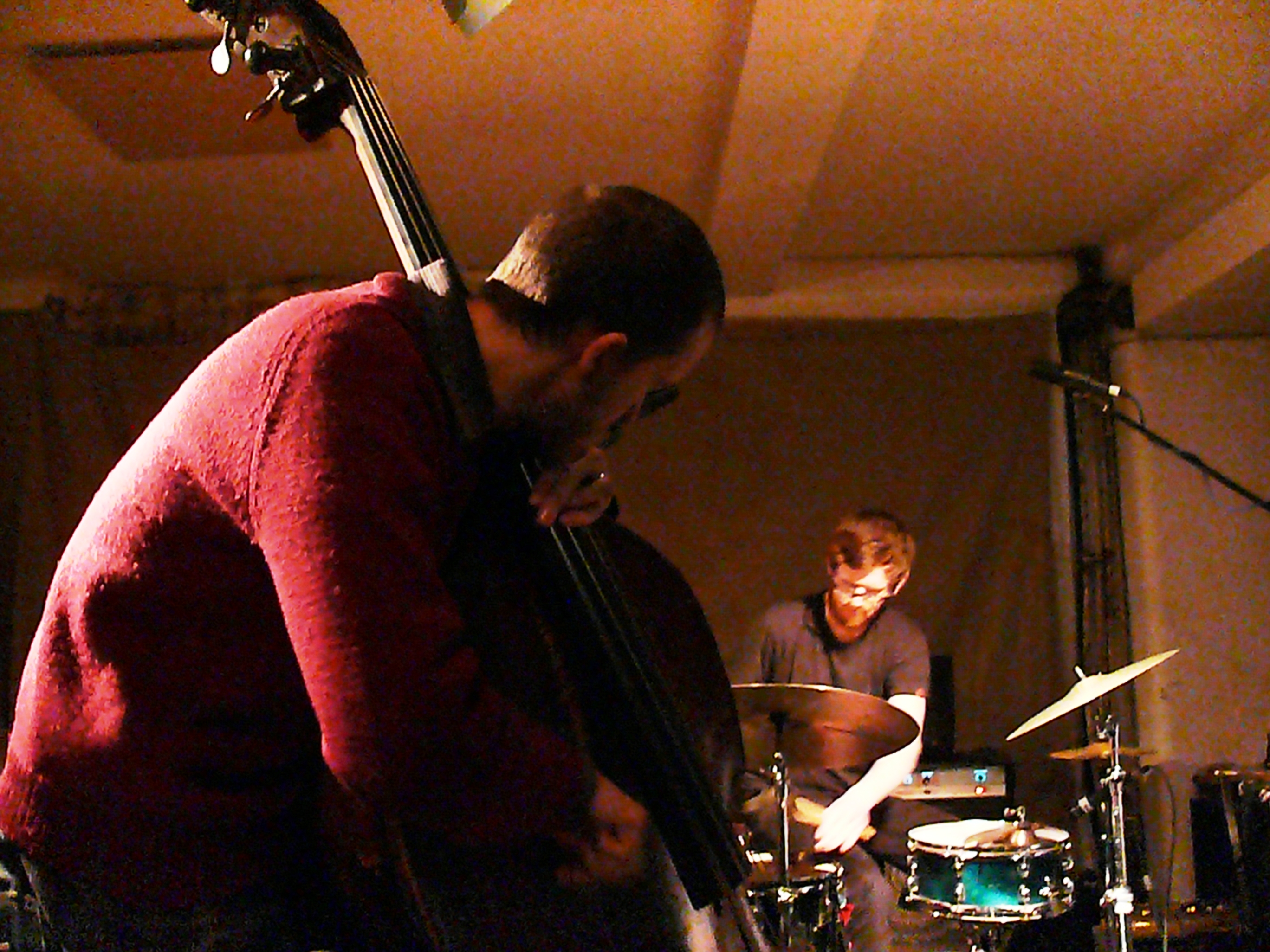 Dominic lash and dag erik knedal andersen at cafe oto, london in february 2013
